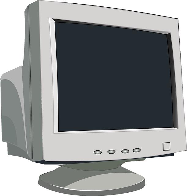 starý monitor