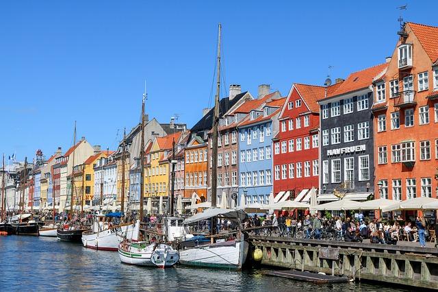 Dánsko, Nyhavn, Kodaň