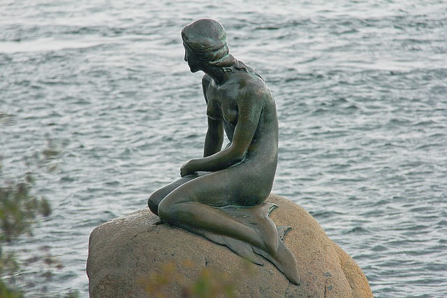 Malá mořská víla, socha