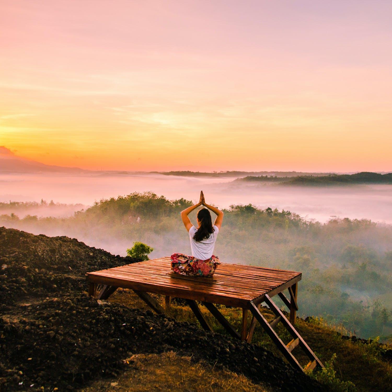 ranní meditac
